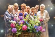 The main cast: Rebecca Storm, Fern Britton, Anna-Jane Casey, Sara Crowe, Ruth Madoc, Karen Dunbar and Denise Welch. Pic Calendar Girls