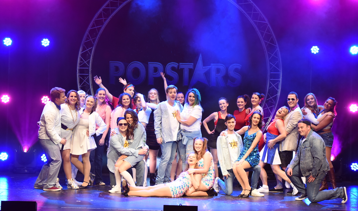 The Cast of Popstars the 90s Musical.Pic SCP Photography