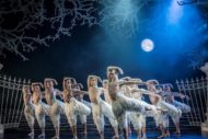 A scene from Matthew Bourne's Swan Lake. Pic: Johan Persson