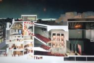 Cross Section vision of the redevelopment. Pic Bennetts Associates.
