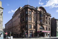 Kings Theatre current front elevation corner looking down Tarvit Street. Pic: Keith Hunter