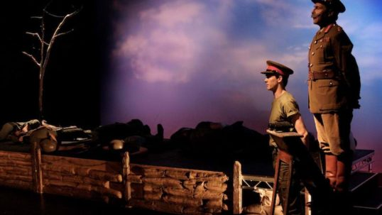 A scene from Captivate's 2014 production of Oh! What A Lovely War. Pic: Captivate Theatre.