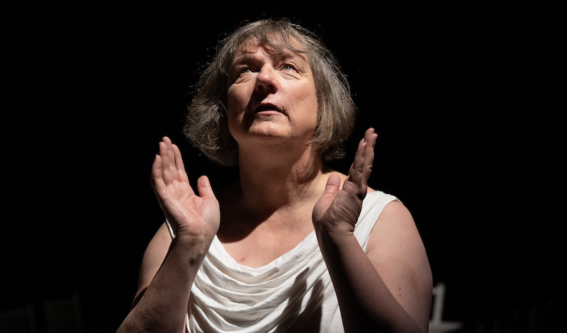 1. Jo Clifford in The Gospel According to Jesus, Queen of Heaven. Photo by Aly Wight.