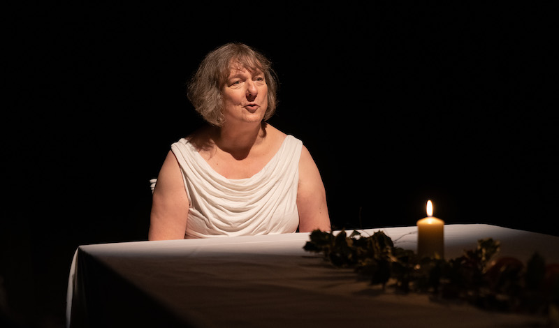 7. Jo Clifford in The Gospel According to Jesus, Queen of Heaven. Photo by Aly Wight.