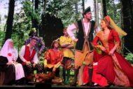 Robin Hood & Bairns in the Wood