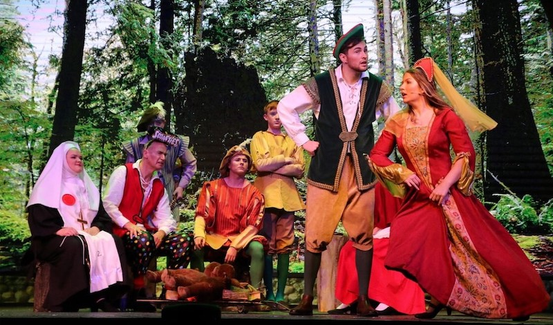 Robin Hood, Maid Marion and the Merry Men