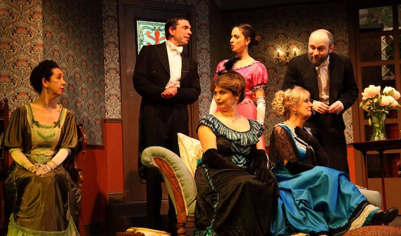Elspeth Whyte, Larry Weil, Fiona Main, Mia Oudeh, Dorothy Johnstone, Chris Cotter. Pic Darren Coutts
