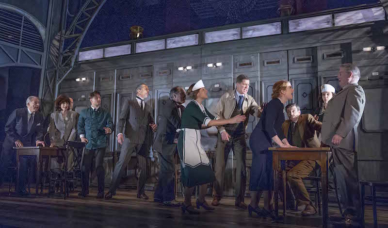 The Cast of The Lady Vanishes – UK Tour – Photograph by Paul Coltas (4175)