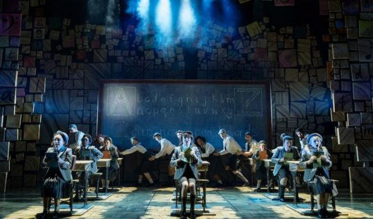 A scene from Matilda the Musical. Pic Manuel Harlan