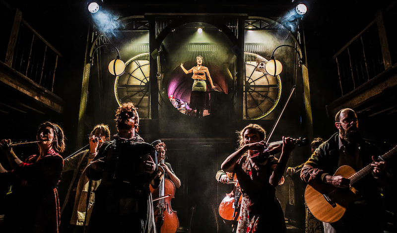 Audrey Brisson and the Cast of Amelie the Musical. Pic Pamela Raith Photography (1)