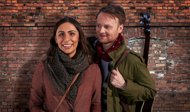 Daniel Healy as Guy and Emma Lucia as Girl – ONCE UK Tour copy