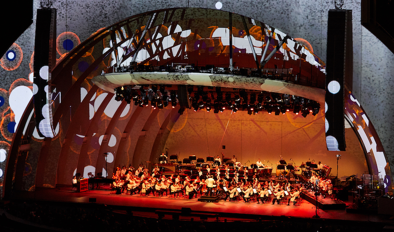 LA Phil 100th year celebration, Hollywood Bowl, Sept 30th 2018