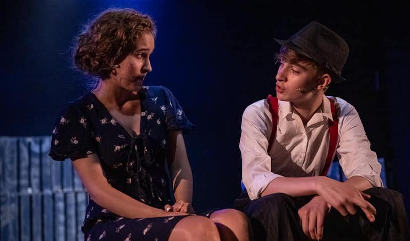 A scene from Bugsy Malone. Pic Leask Photography