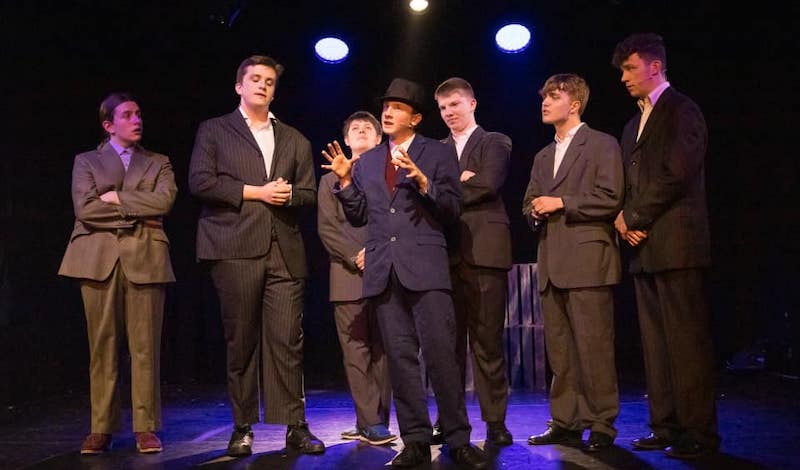 Bugsy Malone. Pic Leask Photography