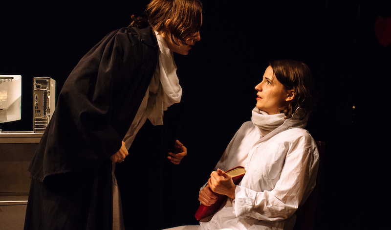 Louisa Doyle and Francesca Sellors. Pic Shrinking Violet
