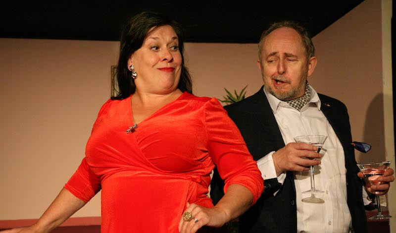 1. Joyce Falconer and Callum Cuthbertson in Number One Fan. Photo by Leslie Black