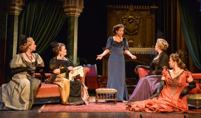 A scene from a Woman of No Importance