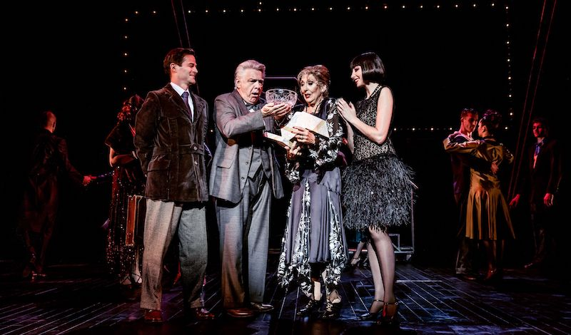 Charles Hagerty, James Paterson, Anita Harris and Kara Lily Hayworth. Pic The Other Richard