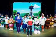 The cast of PAW Patrol Live!