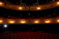 The Lyceum will be empty until 2021. Pic: Peter Dibdin