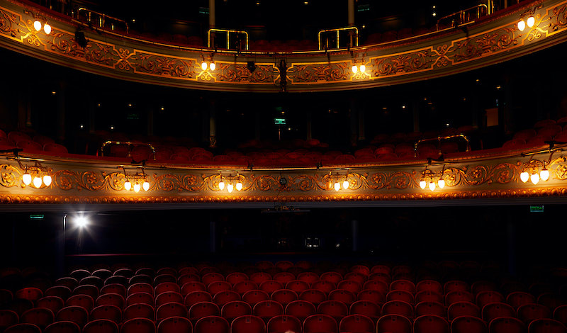 The Lyceum will be empty until 2021. Pic Peter Dibdin