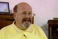 Alan Cochrane, speaking in 1998