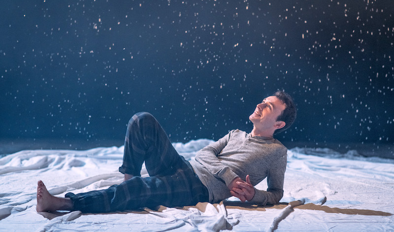 Ryan Hunter in The Christmas Ghost by Louise Ironside. Pic: Mihaela Bodlovic