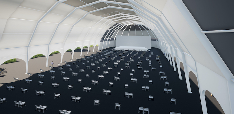 Impression of a performance venue to be used at Edinburgh Park (1)