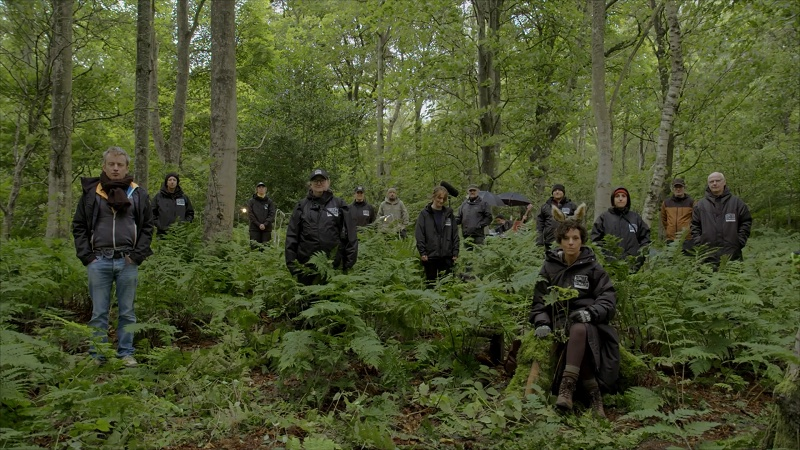 Screenshot of the whole cast and crew in Gifford Community Woodland smaller copy