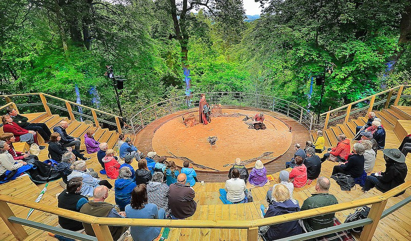The Amphitheatre in action. Pic PFT